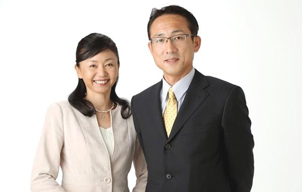 カウンセラー小松夫妻